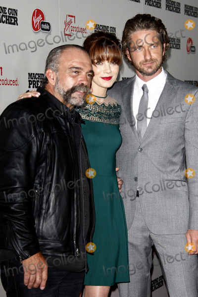 Sam Childers Photo - LOS ANGELES - SEPT 21  Sam Childers Michelle Monaghan Gerard Butler arriving at the Machine Gun Preacher Los Angeles Premiere at Academy of Motion Pictures Arts  Sciences on September 21 2011 in Beverly Hills CA