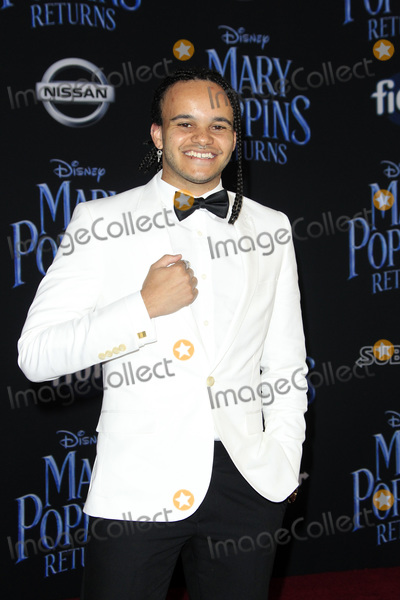 Tarik Frimpong Photo - LOS ANGELES - NOV 29  Tarik Frimpong at the Mary Poppins Returns Premiere at the El Capitan Theatre on November 29 2018 in Los Angeles CA