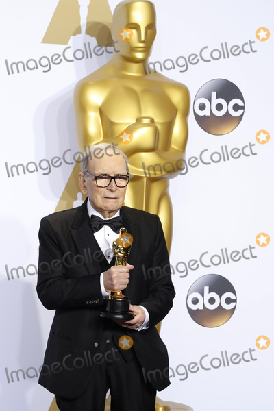 Ennio Morricone Photo - LOS ANGELES - FEB 28  Ennio Morricone at the 88th Annual Academy Awards - Press Room at the Dolby Theater on February 28 2016 in Los Angeles CA