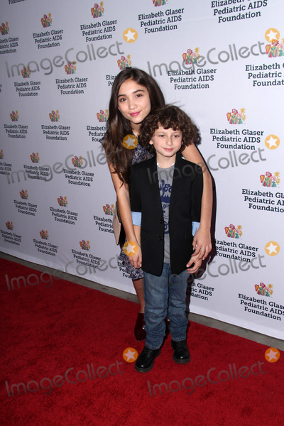 August Maturo Photo - LOS ANGELES - OCT 19  Rowan Blanchard August Maturo at the 25th Annual A Time For Heroes at The Bookbindery on October 19 2014 in Culver City CA