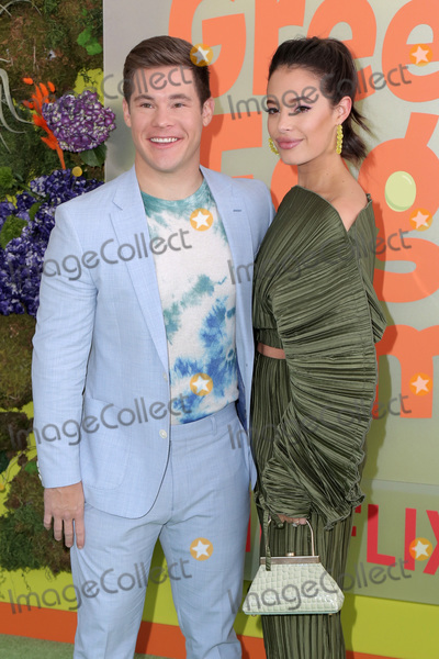 Adam DeVine Photo - LOS ANGELES - NOV 3  Adam Devine Chloe Bridges at the Green Eggs and Ham Premiere at the Hollywood American Legion on November 3 2019 in Los Angeles CA