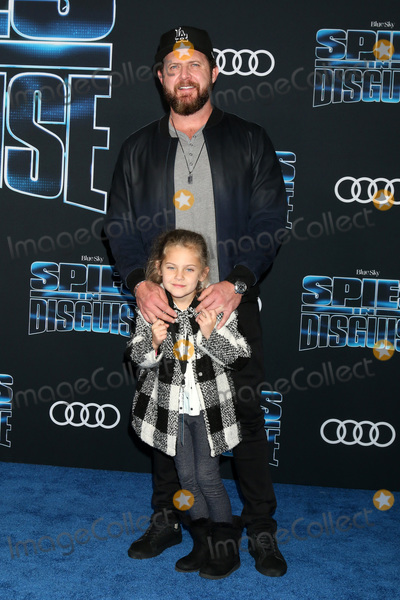 AJ Buckley Photo - LOS ANGELES - DEC 4  AJ Buckley Willow Buckley at the Spies in Disguise Premiere at El Capitan Theater on December 4 2019 in Los Angeles CA