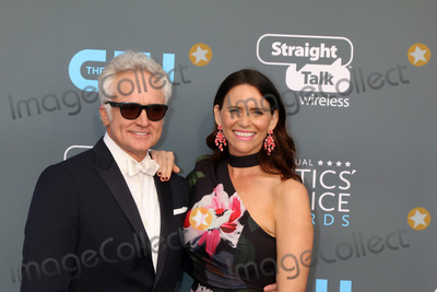 Amy Landecker Photo - LOS ANGELES - JAN 11  Bradley Whitford Amy Landecker at the 23rd Annual Critics Choice Awards at Barker Hanger on January 11 2018 in Santa Monica CA