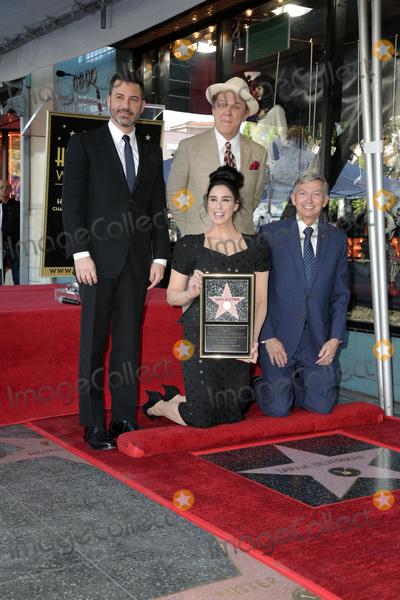Leron Gubler Photo - LOS ANGELES - NOV 9  Jimmy Kimmel John C Reilly Sarah Silverman Leron Gubler at the Sarah Silverman Star Ceremony on the Hollywood Walk of Fame on November 9 2018 in Los Angeles CA