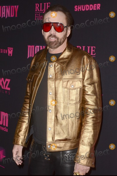 Nicolas Cage Photo - LOS ANGELES - SEP 11  Nicolas Cage at the Mandy Los Angeles Special Screening at the Egyptian Theater on September 11 2018 in Los Angeles CA
