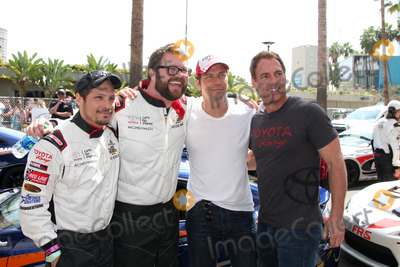 Nick Wechsler Photo - LOS ANGELES - APR 12  Nick Wechsler Rutledge Wood Michael Trucco Mark Steines at the Long Beach Grand Prix ProCeleb Race Day at the Long Beach Grand Prix Race Circuit on April 12 2014 in Long Beach CA