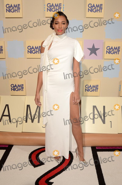 KYLIE BUNBURY Photo - LOS ANGELES - FEB 21  Kylie Bunbury at the Game Night Premiere at the TCL Chinese Theater IMAX on February 21 2018 in Los Angeles CA