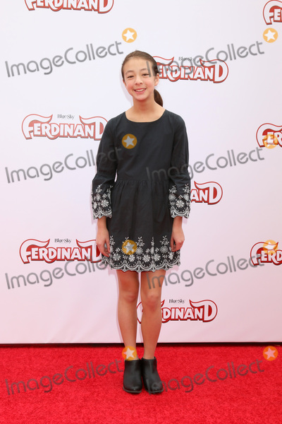 Aubrey Anderson-Emmons Photo - LOS ANGELES - DEC 10  Aubrey Anderson-Emmons at the Ferdinand Screening at Zanuck Theater 20th Century Fox Studio on December 10 2017 in Los Angeles CA