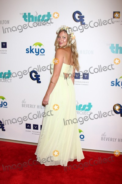 Allie Gonino Photo - LOS ANGELES - JUN 25  Allie Gonino arrives at the 4th Annual Thirst Gala at the Beverly Hilton Hotel on June 25 2013 in Beverly Hills CA