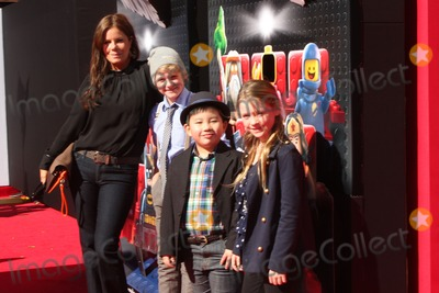 Albert Tsai Photo - LOS ANGELES - FEB 1  Marcia Gay Hardin her children and Albert Tsai at the Lego Movie Premiere at Village Theater on February 1 2014 in Westwood CA