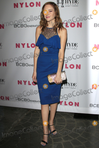 Haley Ramm Photo - LOS ANGELES - MAY 12  Haley Ramm at the NYLON Young Hollywood May Issue Event at HYDE Sunset on May 12 2016 in Los Angeles CA