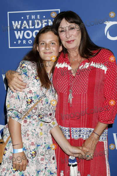 Anjelica Huston Photo - LOS ANGELES - July 17  Stella Huston Anjelica Huston at the Oceana And The Walden Woods Project Present Rock Under The Stars With Don Henley And Friends at the Private Residence on July 17 2017 in Los Angeles CA