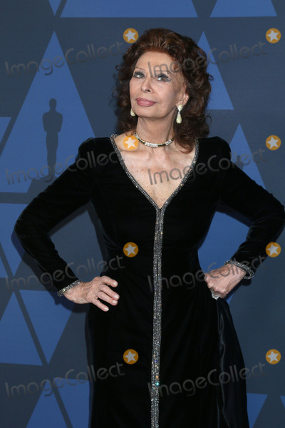 Sophia Loren Photo - LOS ANGELES - OCT 27  Sophia Loren at the 11th Annual Governors Awards at the Dolby Theater on October 27 2019 in Los Angeles CA