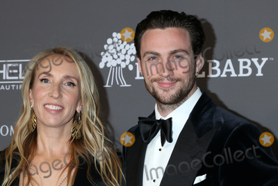 Aaron Taylor-Johnson Photo - LOS ANGELES - NOV 10  Sam Taylor-Johnson Aaron Taylor-Johnson at the 2018 Baby2Baby Gala at the 3Labs on November 10 2018 in Culver City CA