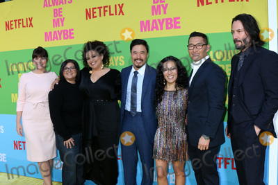 Ali Wong Photo - LOS ANGELES - MAY 22  Casey Wilson Nahnatchka Khan Michelle Buteau Randall Park Ali Wong Daniel Dae Kim Keanu Reeves at the Always Be My Maybe Premiere at the Village Theater on May 22 2019 in Westwood CA