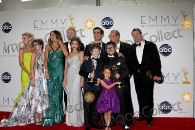 Aubrey Anderson Photo - LOS ANGELES - SEP 23  Modern Family Cast Julie Bowen Ariel Winter Sofia Vergara Jesse T Ferguson Saray Hyland Nolan Gould Ty Burrell Aubrey Anderson-Emmons Rico Rodriguez Ed ONeill Eric Stonestreet in the press room of the 2012 Emmy Awards at Nokia Theater on September 23 2012 in Los Angeles CA