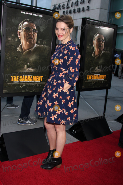 Amy Seimetz Photo - LOS ANGELES - MAY 20  Amy Seimetz at the The Sacrament Premiere at ArcLight Hollywood Theaters on May 20 2014 in Los Angeles CA