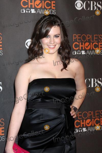 Katie Featherston Photo - Katie Featherstonarriving  at the 2010 Peoples Choice AwardsNokia TheaterJanuary 6 2010