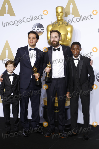 Abraham Attah Photo - LOS ANGELES - FEB 28  Jacob Tremblay Shan Christopher Ogilvie Benjamin Cleary Abraham Attah at the 88th Annual Academy Awards - Press Room at the Dolby Theater on February 28 2016 in Los Angeles CA