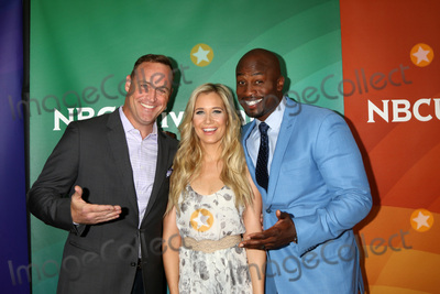 Akbar Gbaja-Biamila Photo - LOS ANGELES - APR 1  Matt Iseman Kristine Leahy Akbar Gbaja-Biamila at the NBC Universal Summer Press Day 2016 at the Four Seasons Hotel on April 1 2016 in Westlake Village CA