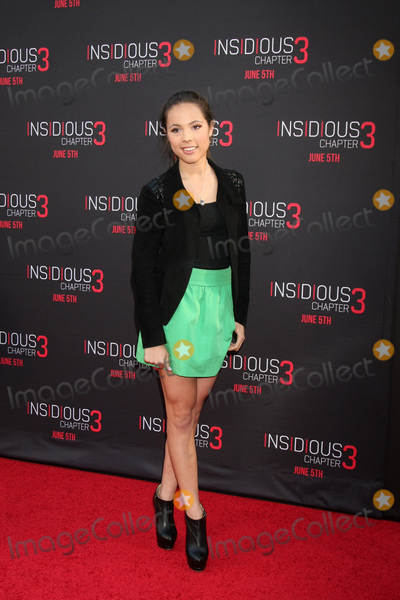 Aneliz Aguilar Photo - LOS ANGELES - JUN 4  Aneliz Aguilar at the Insidious Chapter 3 Premiere at the TCL Chinese Theater on June 4 2015 in Los Angeles CA