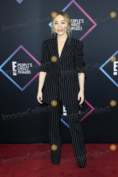 Sabrina Carpenter Photo - LOS ANGELES - NOV 11  Sabrina Carpenter at the Peoples Choice Awards 2018 at the Barker Hanger on November 11 2018 in Santa Monica CA