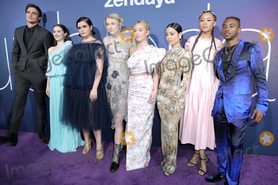 Algee Smith Photo - LOS ANGELES - JUN 4  Jacob Elordi Maude Apatow Barbie Ferreira Hunter Schafer Sydney Sweeney Alexa Demie Storm Reid Algee Smith at the LA Premiere Of HBOs Euphoria at the Cinerama Dome on June 4 2019 in Los Angeles CA