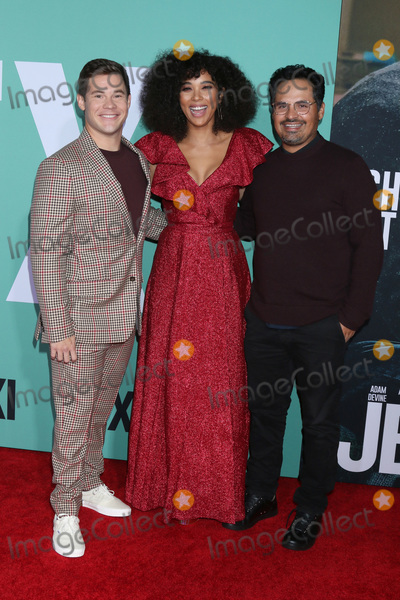 Michael Pena Photo - LOS ANGELES - OCT 3  Adam DeVine Alexandra Shipp Michael Pena at the Jexi Premiere at the Bruin Theater on October 3 2019 in Westwood CA