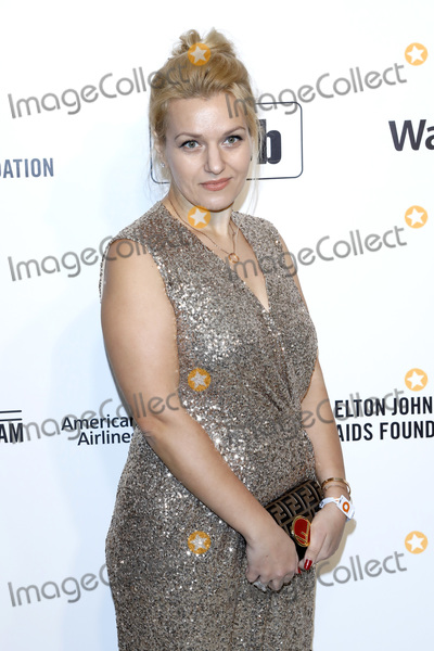 Elton John Photo - LOS ANGELES - FEB 9  Julia Chinyakova at the 28th Elton John Aids Foundation Viewing Party at the West Hollywood Park on February 9 2020 in West Hollywood CA