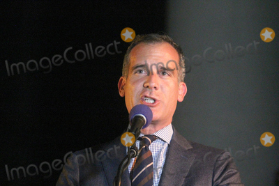Angel City Photo - LOS ANGELES - JUN 15  Eric Garcetti at the Bat Signal Lighting Ceremony to honor Adam West at the Los Angeles City Hall on June 15 2017 in Los Angeles CA