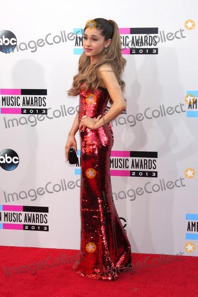 Ariana Grande Photo - LOS ANGELES - NOV 24  Ariana Grande at the 2013 American Music Awards Arrivals at Nokia Theater on November 24 2013 in Los Angeles CA