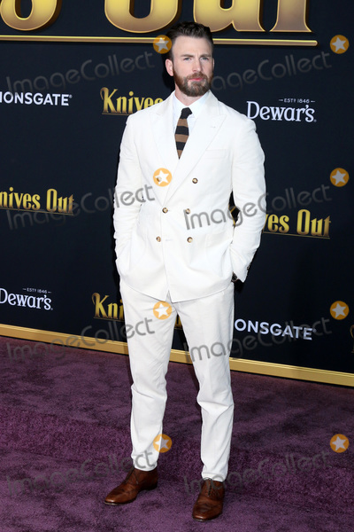 Chris Evans Photo - LOS ANGELES - NOV 14  Chris Evans at the Knives Out Premiere at Village Theater on November 14 2019 in Westwood CA