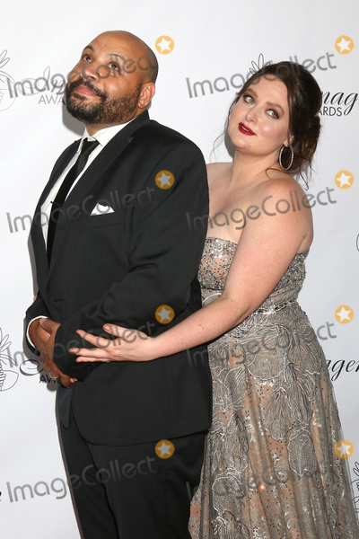 ASH Photo - LOS ANGELES - AUG 25  Colton Dunn Lauren Ash at the 33rd Annual Imagen Awards at the JW Marriott Hotel on August 25 2018 in Los Angeles CA