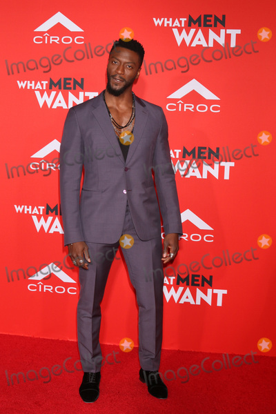 Aldis Hodge Photo - LOS ANGELES - JAN 28  Aldis Hodge at the What Men Want Premiere at the Village Theater on January 28 2019 in Westwood CA