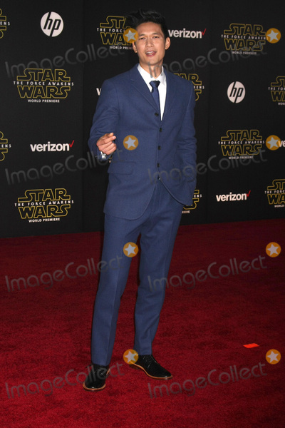 Harry Shum Jr Photo - LOS ANGELES - DEC 14  Harry Shum Jr at the Star Wars The Force Awakens World Premiere at the Hollywood  Highland on December 14 2015 in Los Angeles CA