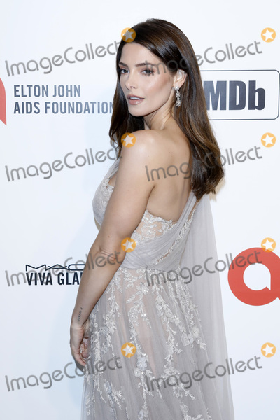 ASHLEY GREEN Photo - LOS ANGELES - FEB 9  Ashley Greene at the 28th Elton John Aids Foundation Viewing Party at the West Hollywood Park on February 9 2020 in West Hollywood CA