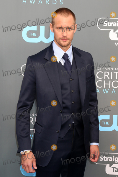 Alexander Skarsgard Photo - LOS ANGELES - JAN 11  Alexander Skarsgard  at the 23rd Annual Critics Choice Awards at Barker Hanger on January 11 2018 in Santa Monica CA