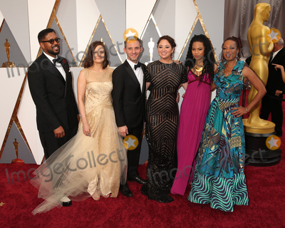Anna Simone Photo - LOS ANGELES - FEB 28  Guest Amy Hobby Justin Wilkes Liz Garbus Lisa Simone Kelly ReAnna Simone at the 88th Annual Academy Awards - Arrivals at the Dolby Theater on February 28 2016 in Los Angeles CA