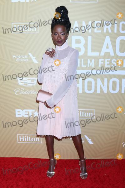 Amanda Gorman Photo - LOS ANGELES - FEB 23  Amanda Gorman at the American Black Film Festival Honors Awards at the Beverly Hilton Hotel on February 23 2020 in Beverly Hills CA