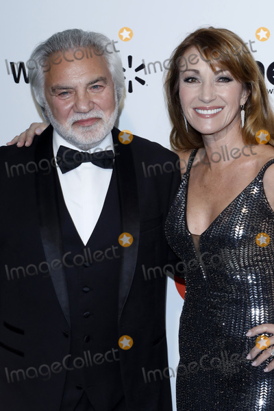 Elton John Photo - LOS ANGELES - FEB 9  Jane Seymour David Green at the 28th Elton John Aids Foundation Viewing Party at the West Hollywood Park on February 9 2020 in West Hollywood CA