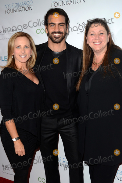 Marlee Matlin Photo - LOS ANGELES - NOV 30  Nyle DiMarco Marlee Matlin Camryn Manheim at the Nyle DiMarco Foundation Love  Language Kickoff Campaign 2016 at Sofitel Hotel on November 30 2016 in Beverly Hills CA