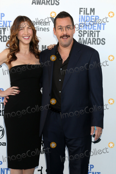 Adam Sandler Photo - LOS ANGELES - FEB 8  Jackie Sandler and Adam Sandler at the 2020 Film Independent Spirit Awards at the Beach on February 8 2020 in Santa Monica CA