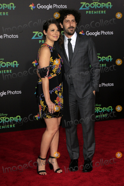 Adam Shapiro Photo - LOS ANGELES - FEB 17  Katie Lowes Adam Shapiro at the Zootopia Premiere at the El Capitan Theater on February 17 2016 in Los Angeles CA