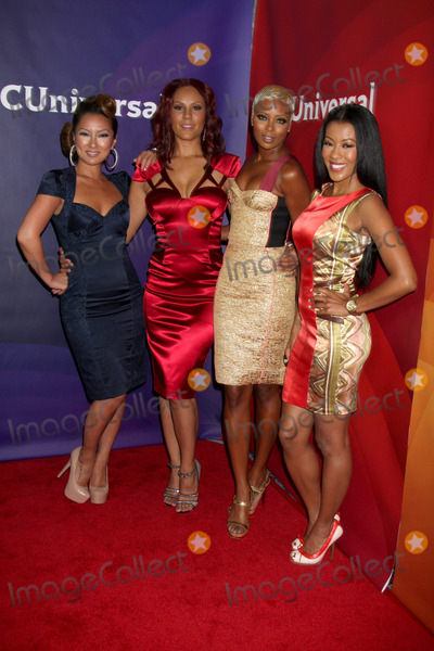 Nikki Chu Photo - LOS ANGELES - JUL 25  Kelly Marie Dunn Nikki Chu Eva Marcille Denyce Lawton arrives at the NBC Universal Cable TCA Summer 2012 Press Tour at Beverly Hilton Hotel on July 25 2012 in Beverly Hills CA