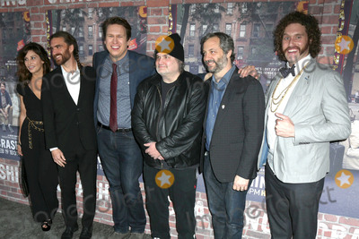 Artie Lang Photo - LOS ANGELES - FEB 15  Gina Gershon George Basil Pete Holmes Artie Lange Judd Apatow TJ Miller at the Crashing HBO Premiere Screening at the Avalon Hollywood on February 15 2017 in Los Angeles CA