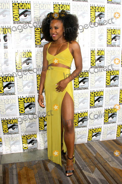 Asha Bromfield Photo - SAN DIEGO - July 22  Asha Bromfield at Comic-Con Saturday 2017 at the Comic-Con International Convention on July 22 2017 in San Diego CA