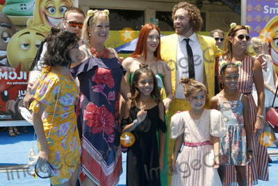 TJ Miller Photo - LOS ANGELES - JUL 23  TJ Miller Guests at The Emoji Movie Premiere at the Village Theater on July 23 2017 in Westwood CA
