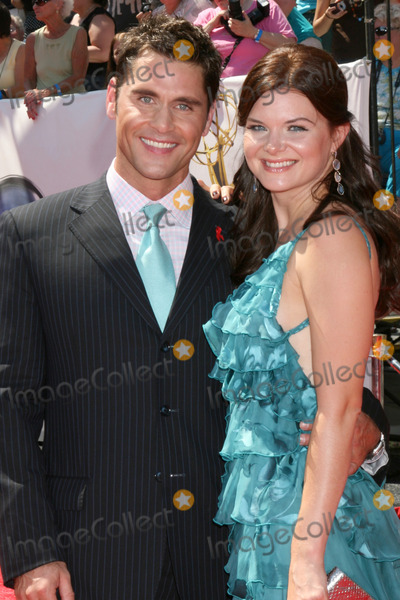 JACK MACKENROTH Photo - Designer Jack Mackenroth  Heather Tom arriving  at the Daytime Emmys 2008 (While working for Soapnet) at the Kodak Theater in Hollywood CA onJune 20 2008