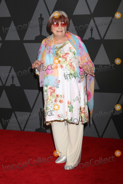 Agnes Varda Photo - LOS ANGELES - NOV 11  Agnes Varda_ at the AMPAS 9th Annual Governors Awards at Dolby Ballroom on November 11 2017 in Los Angeles CA
