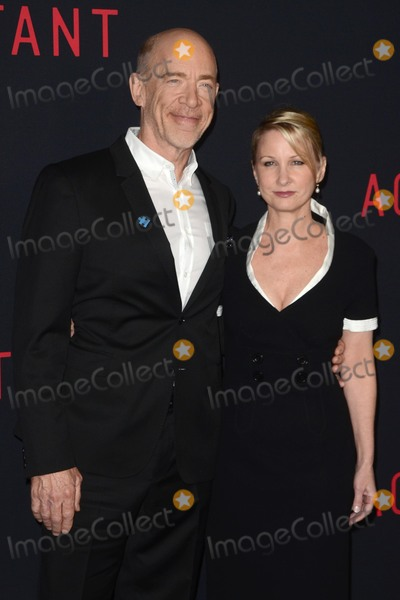 J K Simmons Photo - LOS ANGELES - OCT 10  J K Simmons Wife at the The Accountant World Premiere at TCL Chinese Theater IMAX on October 10 2016 in Los Angeles CA